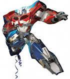 Transformer Optimus Prime Supershape Balloon