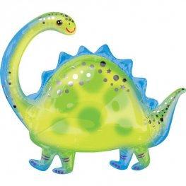 Brontosaurous Dinosaur Supershape Balloon