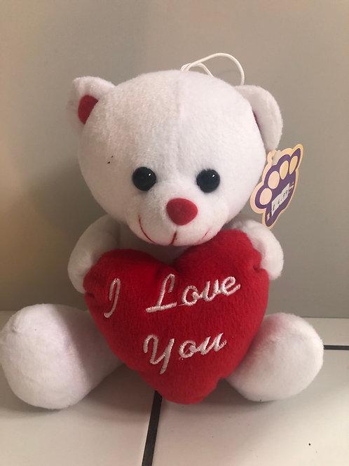 I love you white Bear 8inch