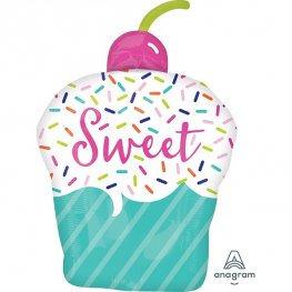 Sweet Cupcake Supershape Balloon