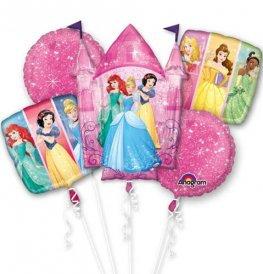 Disney Princess all foil Balloon Bouquet