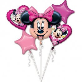 Minnie Mouse all foil Balloon Bouquet