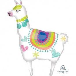 Llama Supershape Balloon