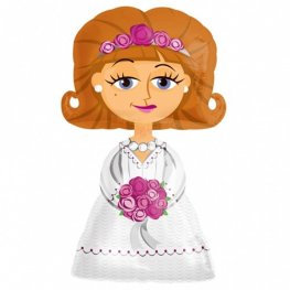 "Bride Airwalker Balloons - 48"""