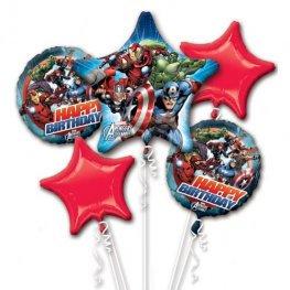 Avengers Assemble all foil Balloon Bouquet