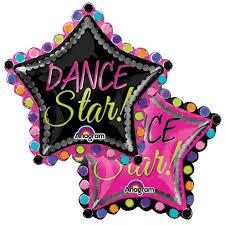 Dance Star Supershape Balloon