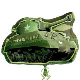 Army Tank Supershape Balloon