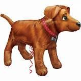 Golden Dog Supershape Balloon