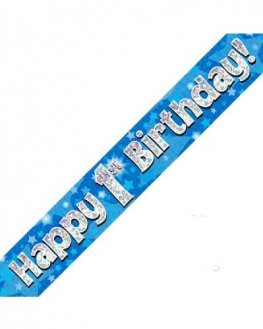 Age 1-9 Birthday Banners (Available in pink or blue)