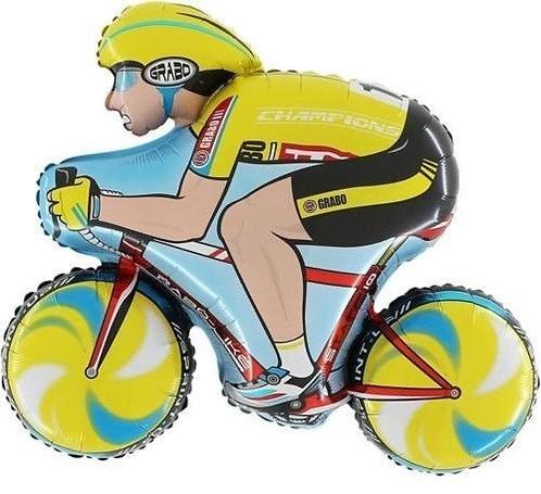 Cyclist Bike Supershape Balloon