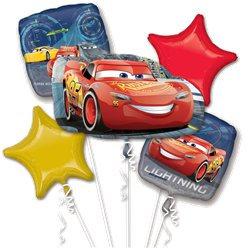 Disney Cars all foil Balloon Bouquet