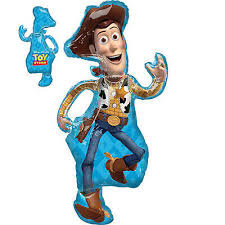 Woody Toy Story Supershape Balloon