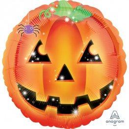 3 Pumpkin Foil Balloons