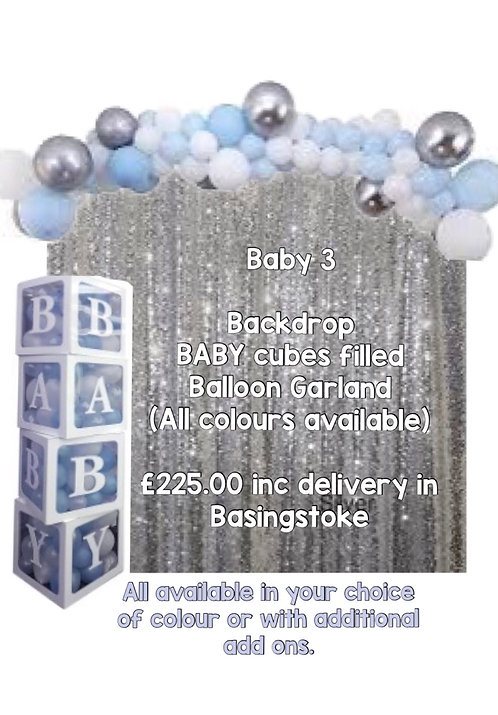 BABY 3 - Baby Shower Package