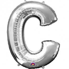 "LETTER C - AIRFILL 16"" LETTERS (SPELL OUT WHAT YOU LIKE)"