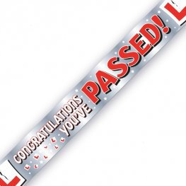 Congratulations you Passed Banner