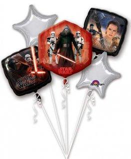 Star Wars all foil Balloon Bouquet