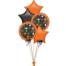 All foil Halloween Themed Balloon Bouquet