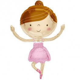 Ballerina Supershape Balloon