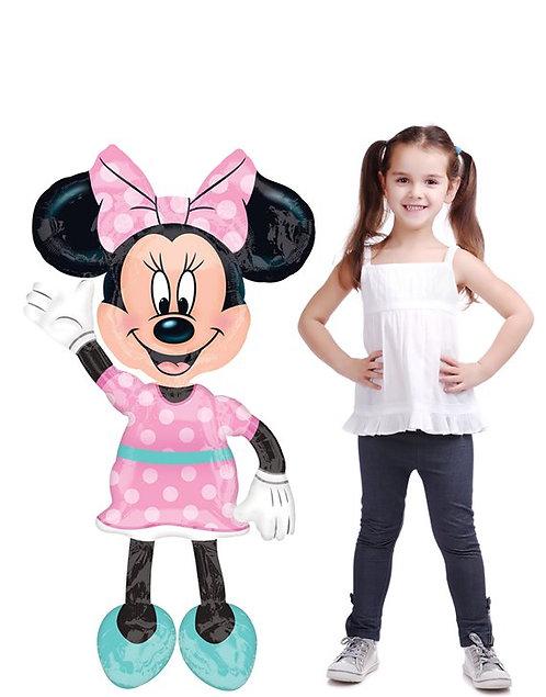 "Minnie Mouse Airwalker Balloon - 54"""