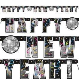 New Year Letter Banner 5ft