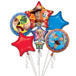 Toy Story all foil Balloon Bouquet