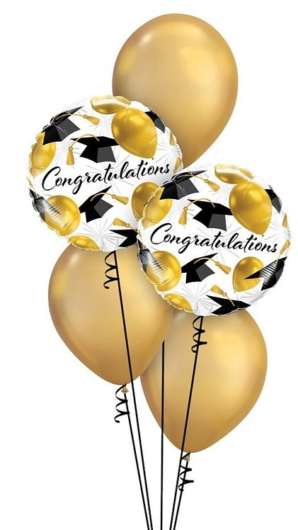 Classic Congratulations Balloon Bouquet