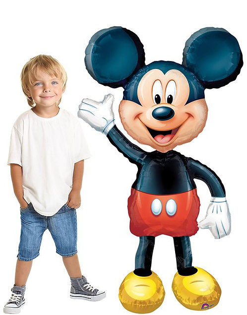 "Mickey Mouse Airwalker Balloon - 52"" Foil"