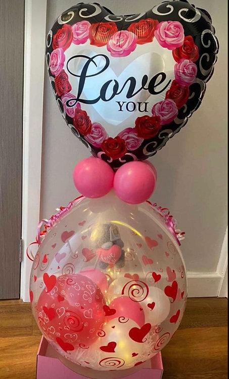 Valentine Stuffed Balloon