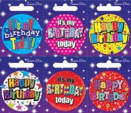 Happy Birthday Small Badge