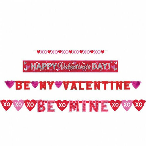 Valentine complete decorating pack