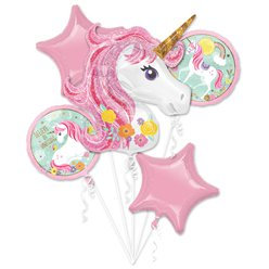 Unicorn all foil Balloon Bouquet
