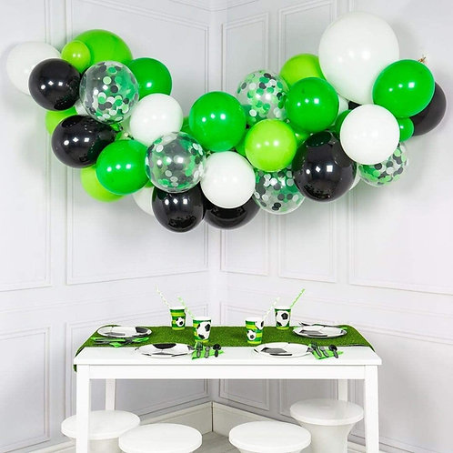 Balloon Garland Arch CHOOSE YOUR OWN COLOURS supplied ready made ready to hang