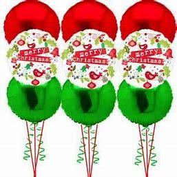 3 Christmas Foil Balloon Bouquet