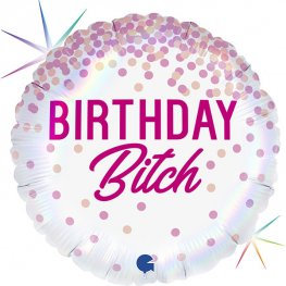 "18"" Birthday Bitch Foil Balloon"