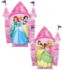 Disney Princess Castle Supershape Balloon