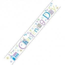 Christening Day Banner (Boy/Girl)