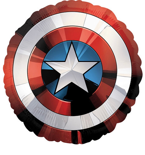 Captain America Avengers Shield Supershape Balloon