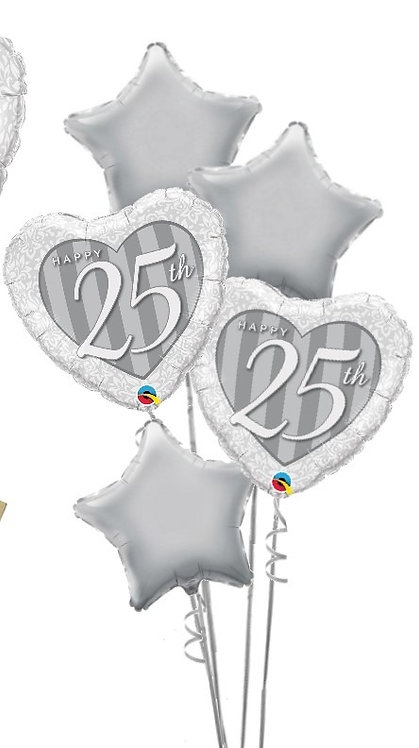 ANNIVERSARY FOIL BALLOON BOUQUET