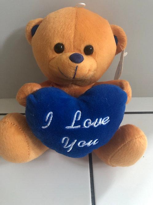I love you brown Bear 8inch
