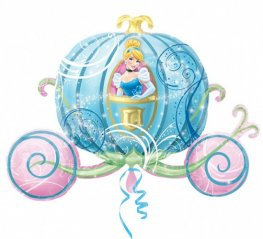 Disney Cinderella Carriage Supershape Balloon