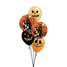 Halloween Themed Classic Balloon Bouquet