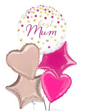 Mothers Day All Foil Balloon Bouquet