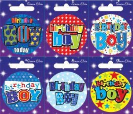 Birthday Boy or Birthday Girl Small Badge