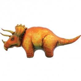 Triceratops Dinosaur Supershape Balloon