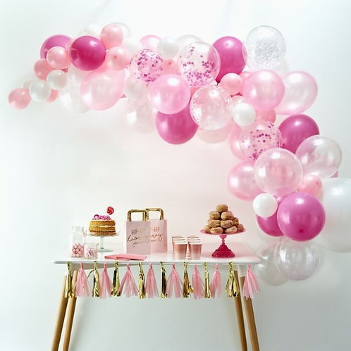 Pink DIY Balloon Garland Kit
