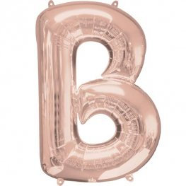"LETTER B - AIRFILL 16"" LETTERS (SPELL OUT WHAT YOU LIKE)"