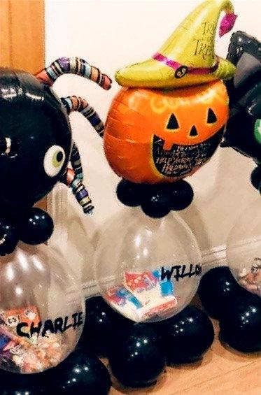 Halloween PERSONALISED Sweet Stuffed Balloon - LARGE