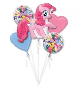 My Little Pony all foil Balloon Bouquet