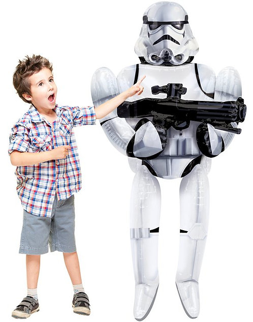 "Star Wars Storm Trooper Airwalker Balloon - 70"""